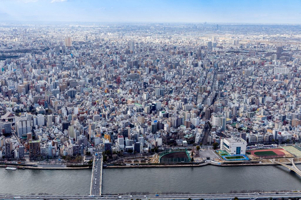 Blick auf Tokio | © Marco Verch/Flickr