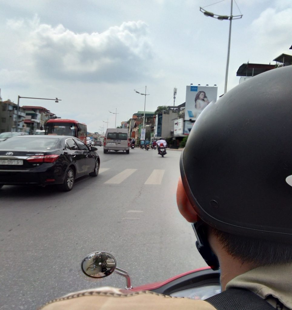 My first moped taxi | © Janine Dhuka/myTEFL