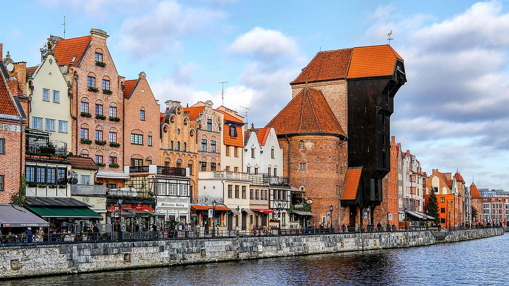 Gdansk Waterfront | © Charlie Jackson/Flickr