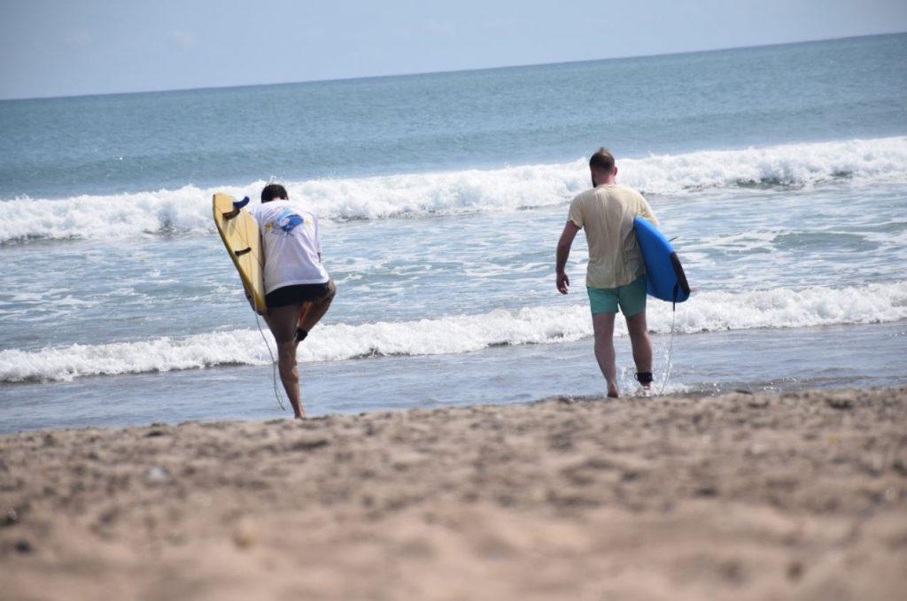 surf and TEFL