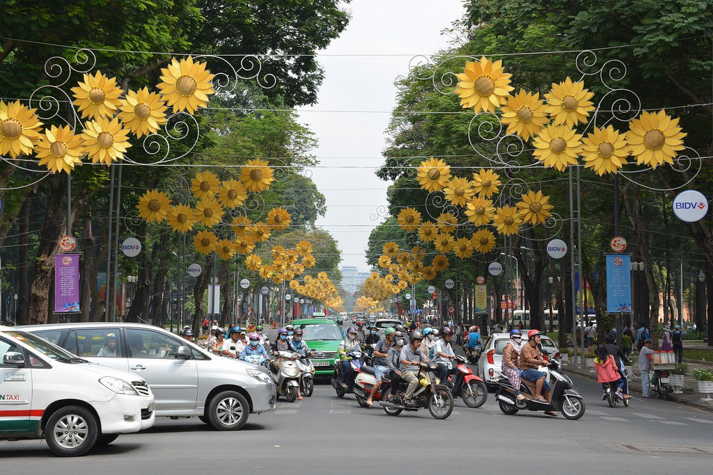 cities in Vietnam for English teachers