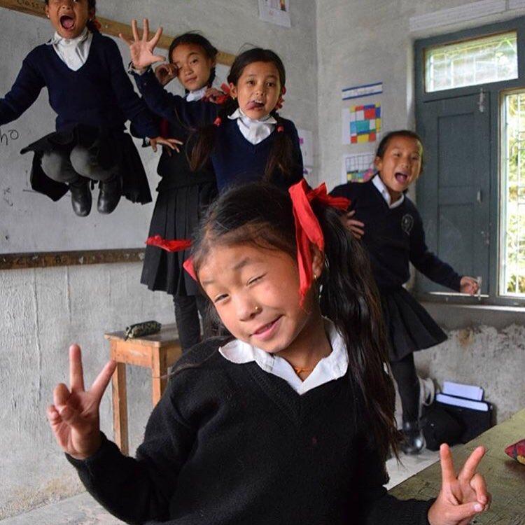 nepal, cute, kids, energy