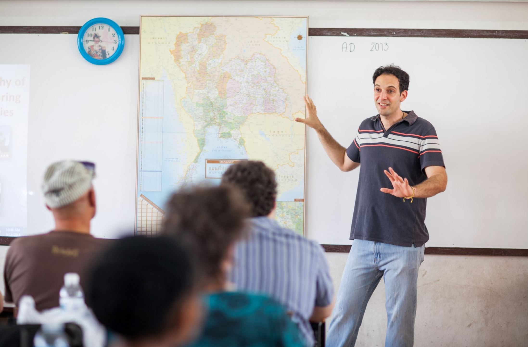 teaching English to complete beginners
