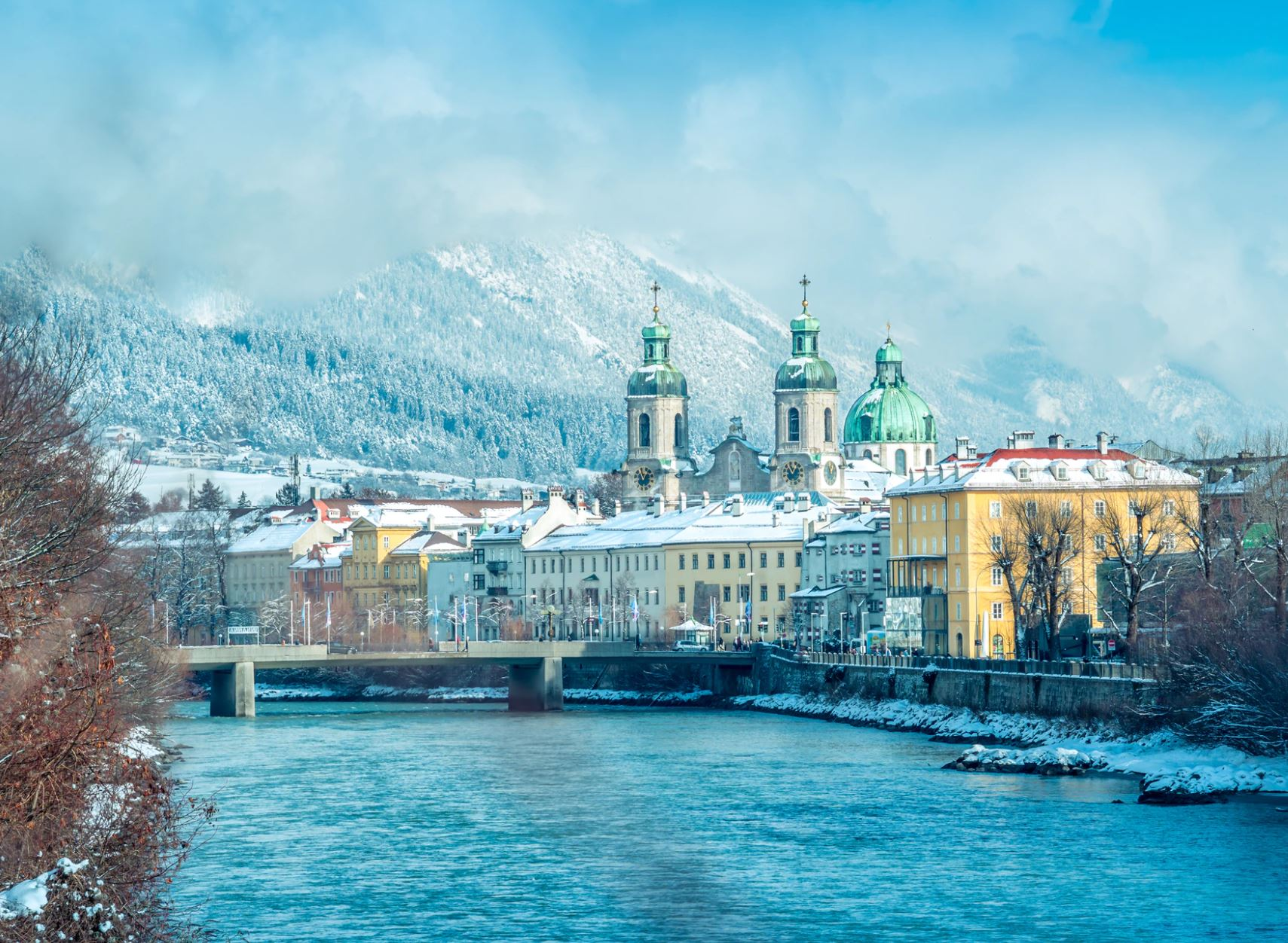 TEFL cities with skiing