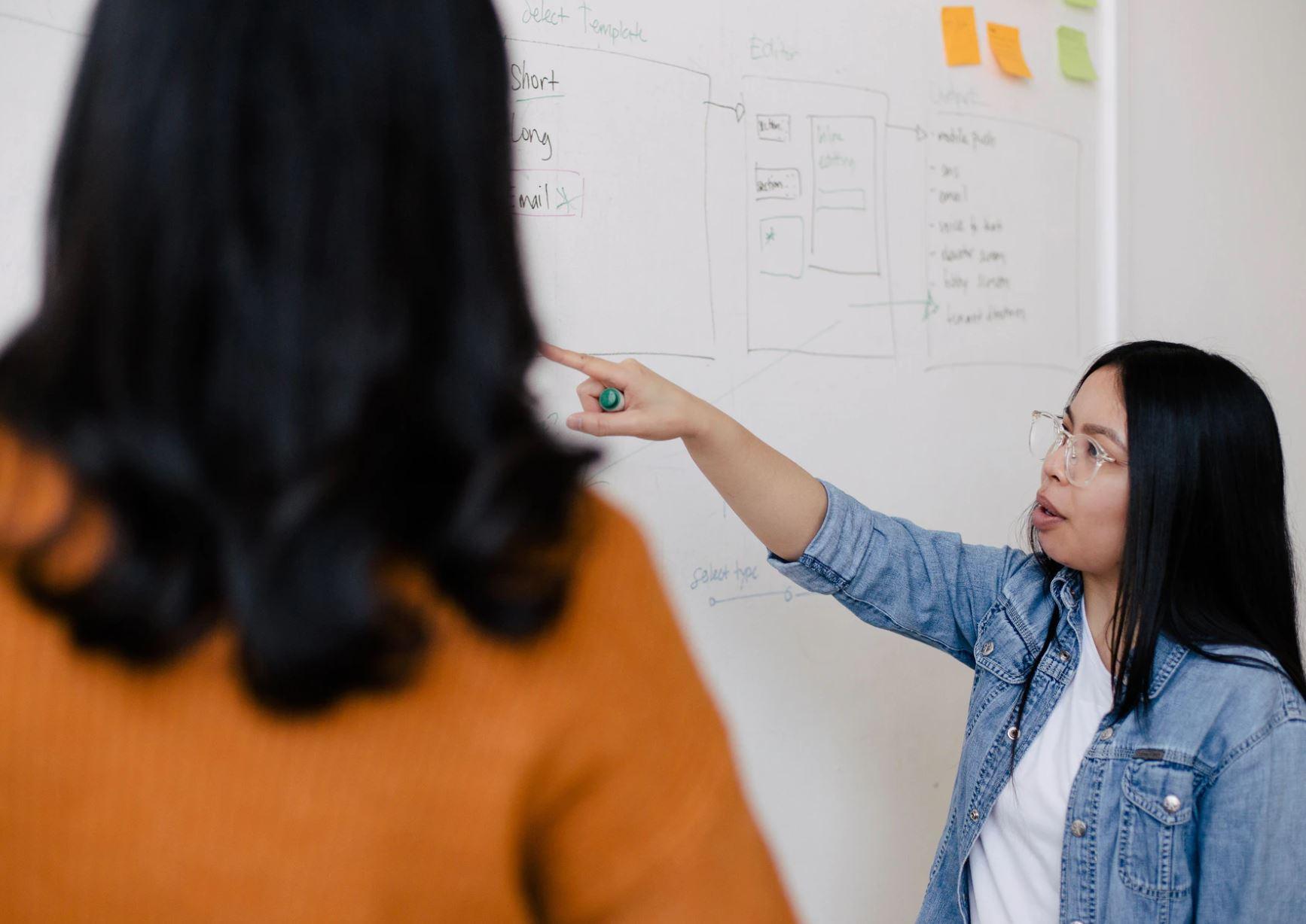 A teacher in a classroom | You X Ventures/Unsplash